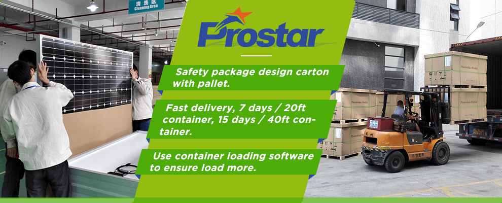 Prostar Solar fast delivery goods