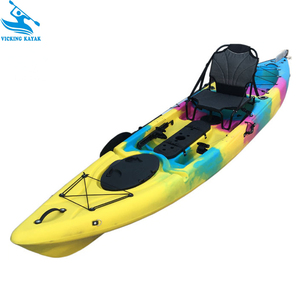 Cheap China Plastic Canoe Fishing Kayak With Kayak Accessories