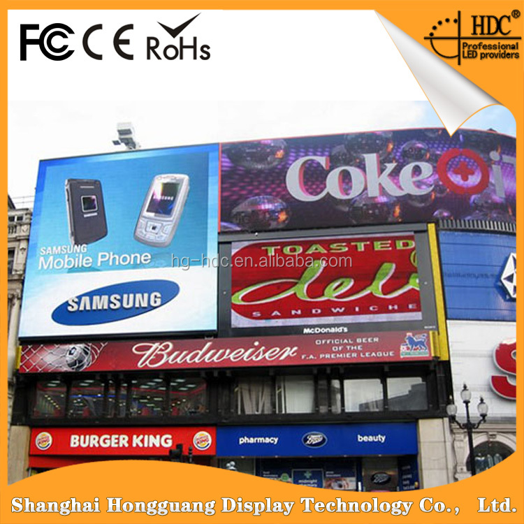 RGB Waterproof Of HD Super Thin P10 Outdoor Led Screen Video xxx Hot