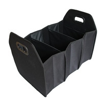 wholesale oversea source car uses auto car trunk organiser car seat back organizer with folding tray