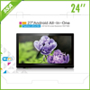 "Capacitive Touch 7"" 10.6"" 13.3"" 15.6"" 18.5"" 21.5"" 24"" 27"" 32"" inch Android LCD TV With Built In PC"