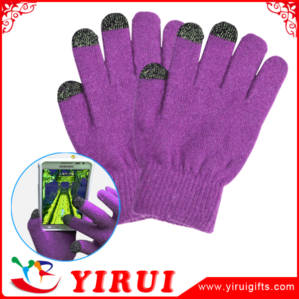 2016 winter handphone warm smart touch screen gloves for iphone