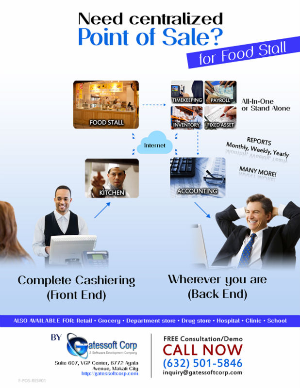 Point of Sale (POS) Software for Food Stall