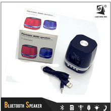 T-2306A 5W 500mAh Wireless USB Mini LED Stereo Bluetooth Speaker for Smartphone Tablet PC Laptop