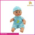 Eco-friendly 8 Inches Plastic Mini Baby Doll