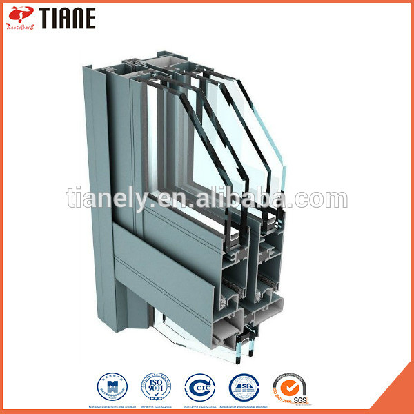 hot sale & high quality Cheapest aluminium curtainwall for wholesale