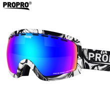 Fashionable motorcycle cycling eyewear goggles super light fameless ski snow sports goggles