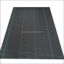 Chinese factory sale black plastic weed mat weed barrier ground cover