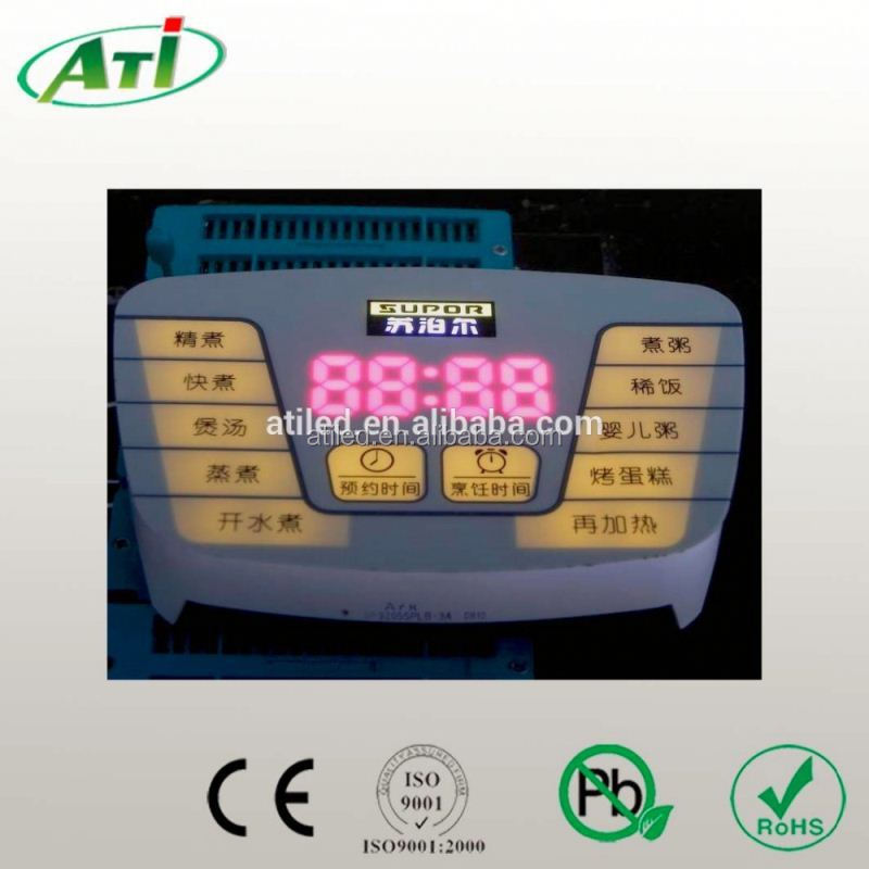 custom induction cooker led display, ATI factory