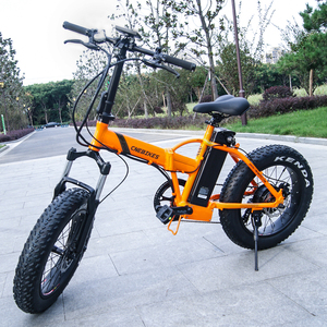 Best quality 36V 350W folding fat tire snow electric bike/bicycle for sale