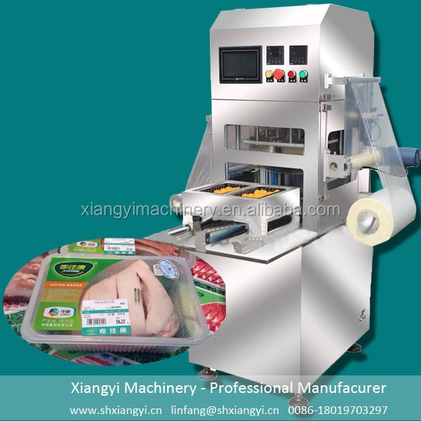 Tray Modified Atmosphere Packaging Machine/Map Packing Machine/Vacuum Map Tray Sealing Machine