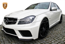 fiber glass Body Kit For ben z B-series C Class W204 C63 4 door Car parts