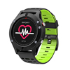 F5 Altimeter Barometer Thermometer BT 4.2 heart rate monitor gps smart watch waterproof Outdoor Sports watch