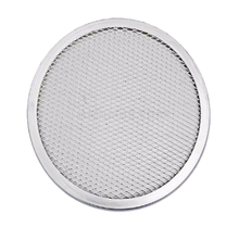 High quality Expanded Mesh Disc Aluminium Round Pizza Pan Screen