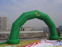 Hot sale green arch inflatable, inflatable arch price, wedding arches for sale