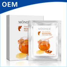 Honey and Almond Nourishing Moisturizing Softening Refreshing Private Label Foot Mask