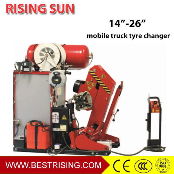 Automatic used mobile tire changer for sale