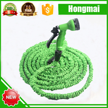 2016 get free samples High Quality Premium Expandable Garden hose 150 FT Flexible Water Hose with Spray Nozzle 8 function gun