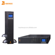 Foshan high frequency online 220v/230v/240v rack mount ups 3kva