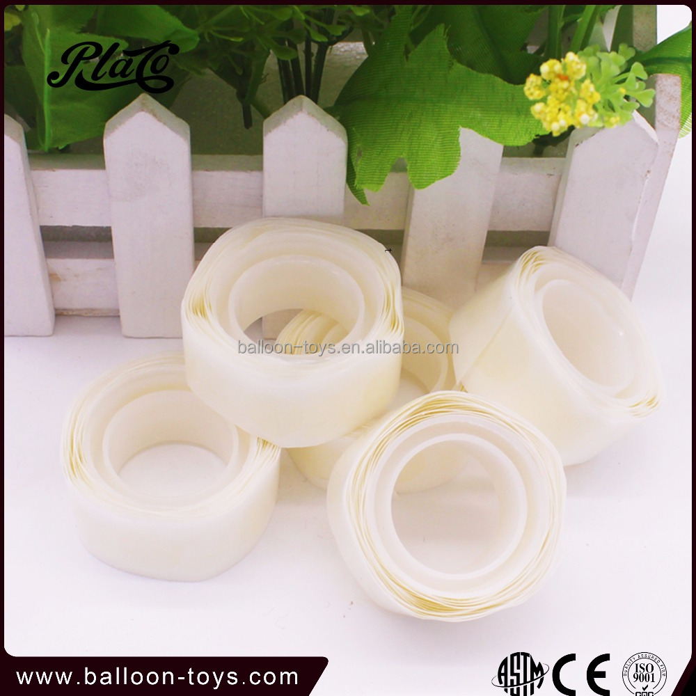 100 dots transparent craft magic balloon glue for advertising