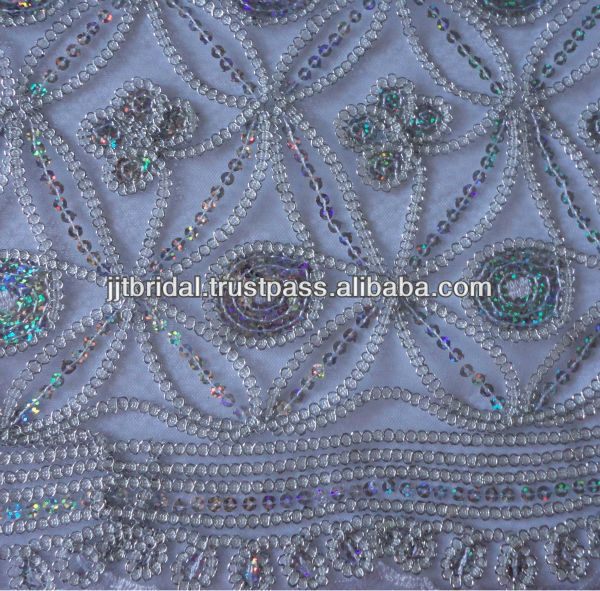 2013 New Arrival Embroidered Fabric SP71