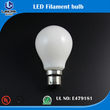 Dimmable led filament bulb b22 10w milky white cover 2200K 1000lm