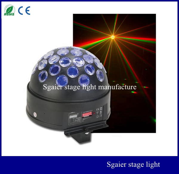 led crystal magic ball light stage effect lights effect light for home