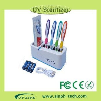 2015 hot sell Family use UV Toothbrush Sanitizer/sterilizer