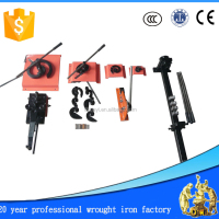 13 PCS Wrought Iron Manual Metal