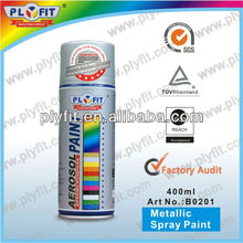 liquid chrome spray paint for metal and plastic