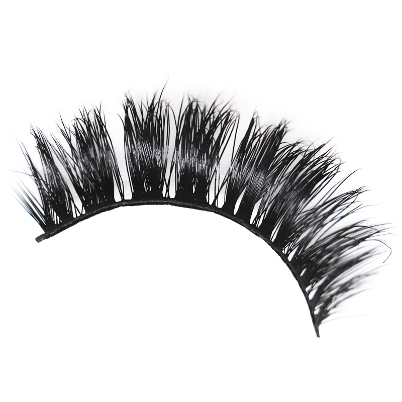 3d layered effect super soft comfortable 3d individual mink eyelash <strong>007</strong>