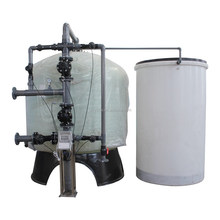 Fiberglass/FRP tank 30m3/hr resin regeneration filter water softener system