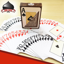 Custom top quality playing cards for casino club gift
