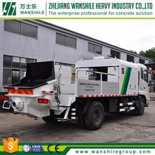 grade one producer truck-mounted zhejiang truck mounted line concrete pump