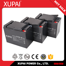 XUPAI 12v 45ah rechargeable battery Electric Vehicles Battery