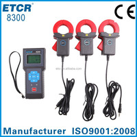 ETCR8300 Three Channel Leakage Monitoring Recorder electrical instrument