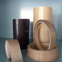 Fireproof PTFE teflon non-stick high temperature fabric tape