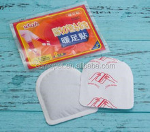 disposable adhesive instant heat pack/ body warmer/warm patch