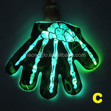 Glow In The Dark Gloves Stretchable Outside Fun Novelty Glove Cool Gift
