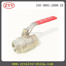 free sample high pressure 3 inch stainless steel ball valve cf8m 1000wog