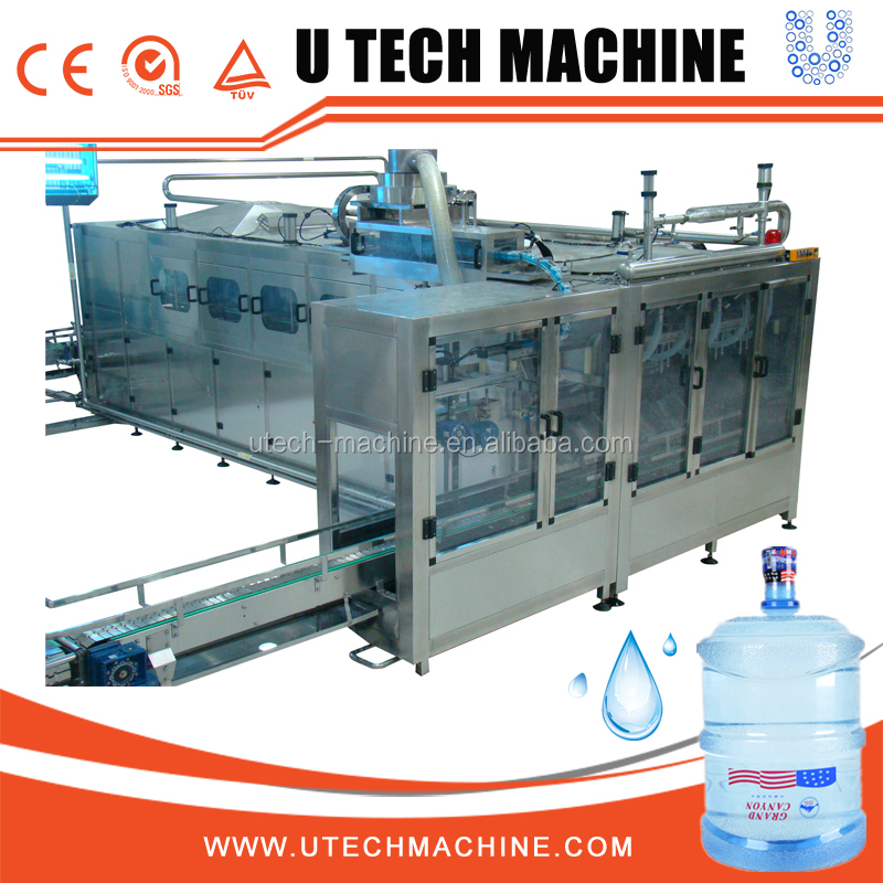 Standard Model 20 Liter Bottle Water Filling Machine