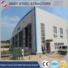 Galvanised prefabricated steel building shopping center
