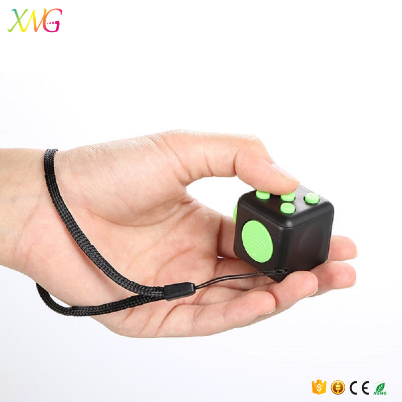 new arrival mini magic fidget cube relieve stress anti irritability