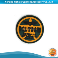 Sport Motorcycle Garment PVC Rubber Patch