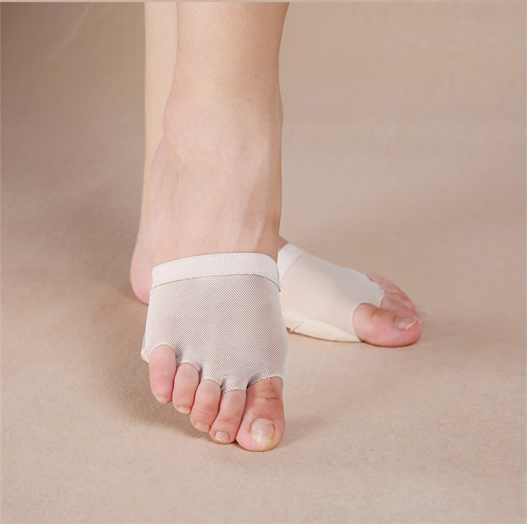 Girls Belly Ballet Toe Pad Practices Shoes Foot Undies Dancing Foot Thong