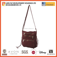 New Hot Selling Fashional Maroon Genuine Leather / PU Shoulder Handbags