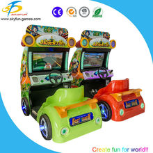 Arcade games machine car race 2 player game for sale