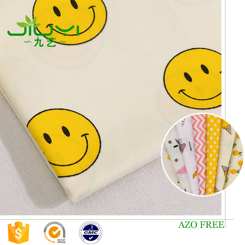 High quality fashion pineapple print 100% cotton composition 40s poplin fabric