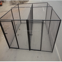 High Quality welded wire mesh pet dog kennel carrier cage