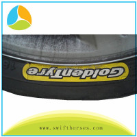 Best quality Rubber Vulcanization Label, Tyre Marking Rubber Tyre Label